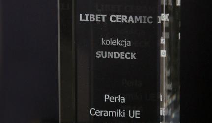 Płyta Sundeck z nagrodą Perła Ceramiki UE 2016