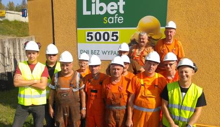 5000 dni bezwypadkowej pracy zakładu w Libiążu