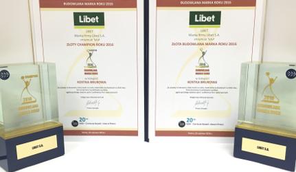 Libet ponownie doceniony przez Wykonawców