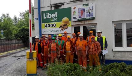 4000 dni bezwypadkowej pracy w zakładzie Libet w Krakowie